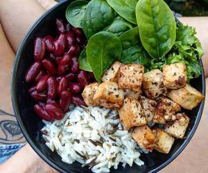 beans, Chicken, and diet image