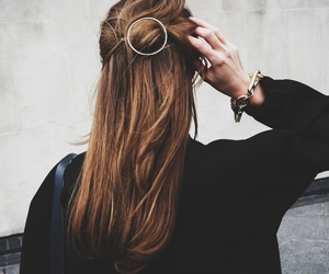 accesories, grunge, and hair style image