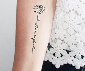 rose and tattoo image