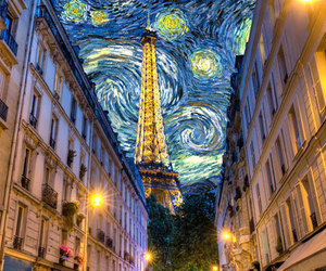 paris, van gogh, and art image