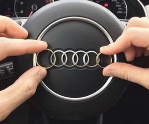 audi, rings, and car image