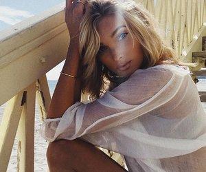 beauty, elsa hosk, and girl image