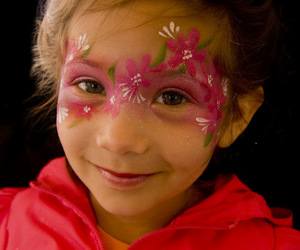face painting, kids birthdays, and kids face painting image