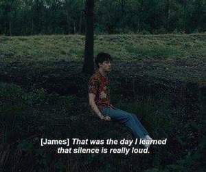 silence, alone, and james image
