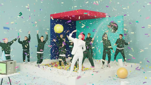 Seventeen, clap, and mv image