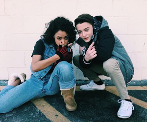 noah schnapp and liza koshy image