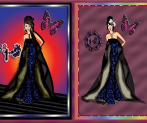 drawing, fashiondesign, and hautecouture image