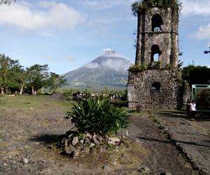ruins, mayon, and travel image
