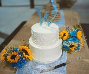 elegance, wedding cake toppers, and flowers image