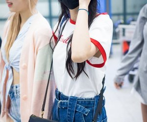 airport, soobin, and 설아 image
