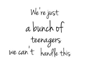 quote and teenagers image