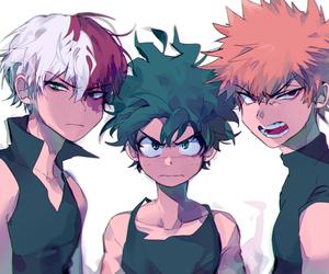 boku no hero academia, anime, and shouto todoroki image