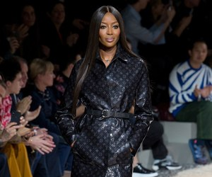 fashion, Louis Vuitton, and Naomi Campbell image