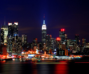 lights and city image