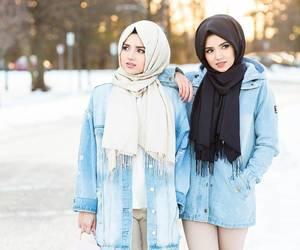 fashion, islam, and hijab image