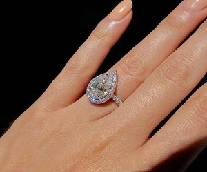 diamond, jewellery, and nails image
