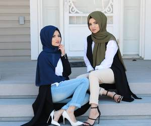 fashion, muslim, and hijabstyle image