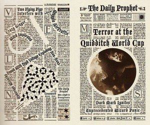 quidditch, death eaters, and daily prophet image