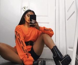 aesthetic, gorgeous, and orange image