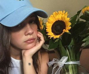 bea miller, flowers, and icon image