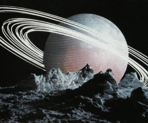 space, art, and dark image