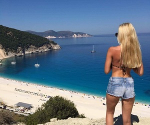 blue, love, and Greece image