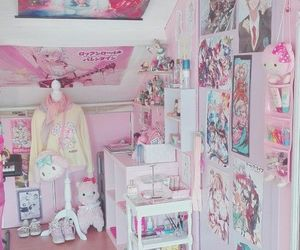 anime, pastel, and girly image