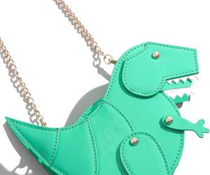 dinosaur, purse, and style image
