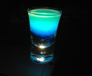blue, drinks, and hit image