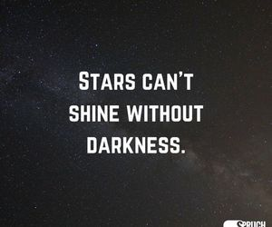 Darkness, quotes, and shine image
