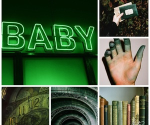 baby, green, and nature image