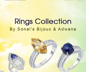 silver rings for women image