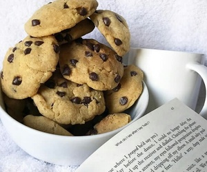 chocolate, cookie dough, and Cookies image