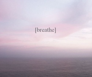breathe, quotes, and sky image