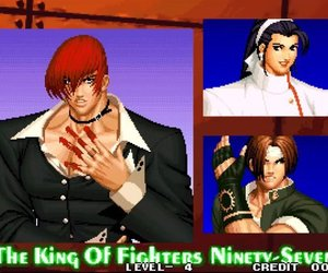 game, kyo kusanagi, and King of Fighters image