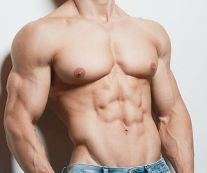 abs, beefcake, and gorgeous image