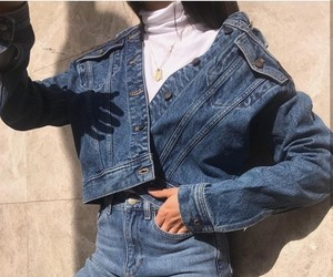 denim, style, and fashion image