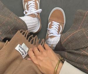 beige, fashion, and vans image