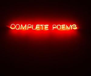art, literature, and neon image