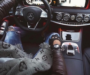 Louis Vuitton and mercedes image