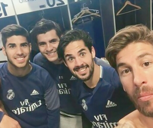 real madrid, sergio ramos, and isco image
