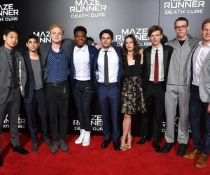 cast, KAYA SCODELARIO, and will poulter image