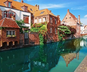 belgium, bruges, and house image