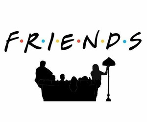 friends, series, and tv show image