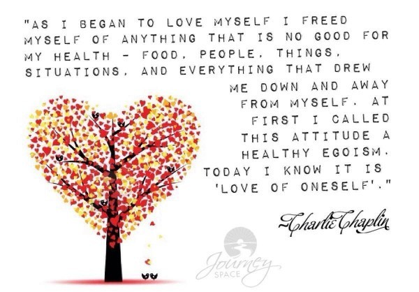 As I Began To Love Myself A Poem By Charlie Chaplin