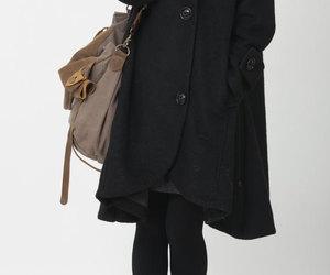 wool coat, etsy, and long sleeve image
