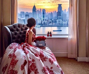dress, fashion, and beautiful image