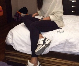shoes sneakers, fashion style, and chanel white image