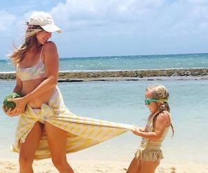 beach, child, and vegan image