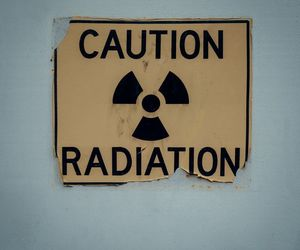 aesthetic, caution, and radiation image